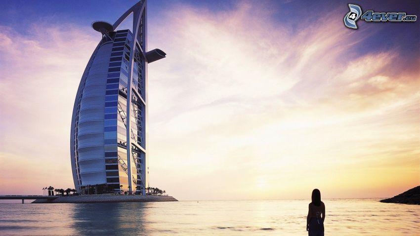 Burj Al Arab, femme