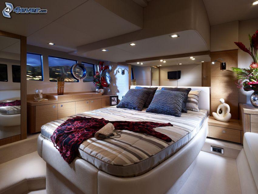 Chambre à coucher luxe