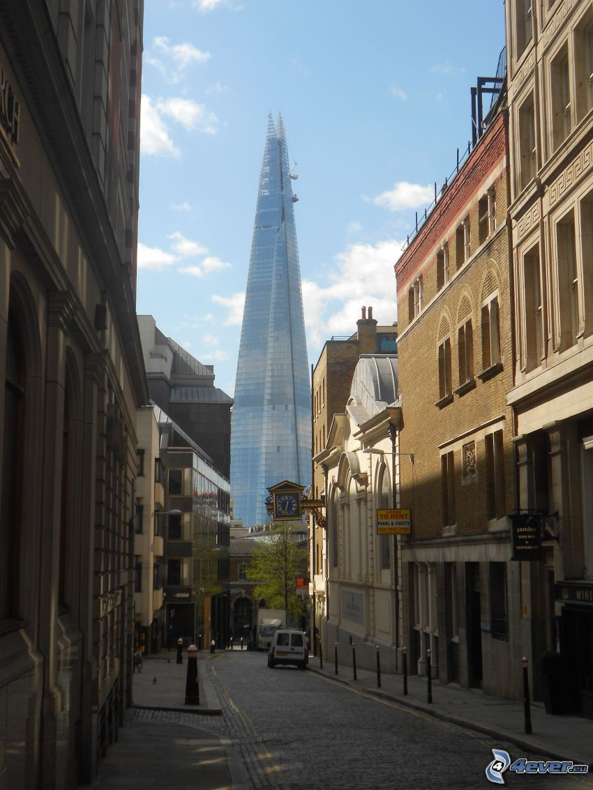 The Shard, Londres, rue