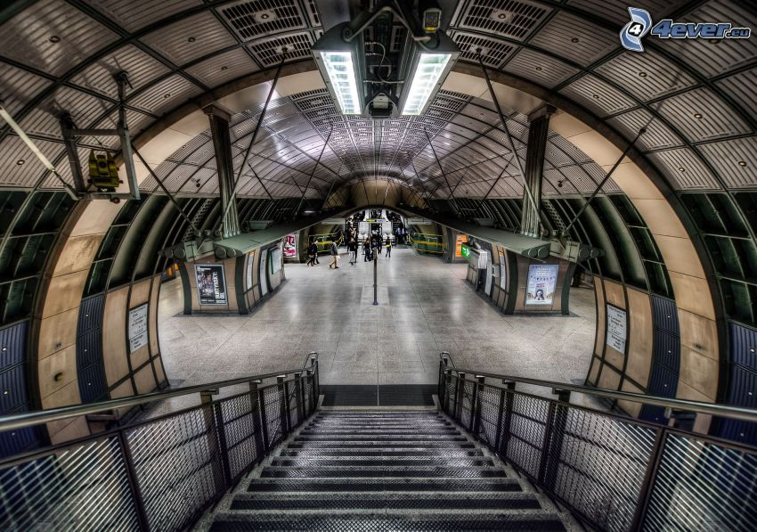 station de métro, HDR