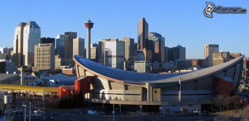 Calgary, gratte-ciel