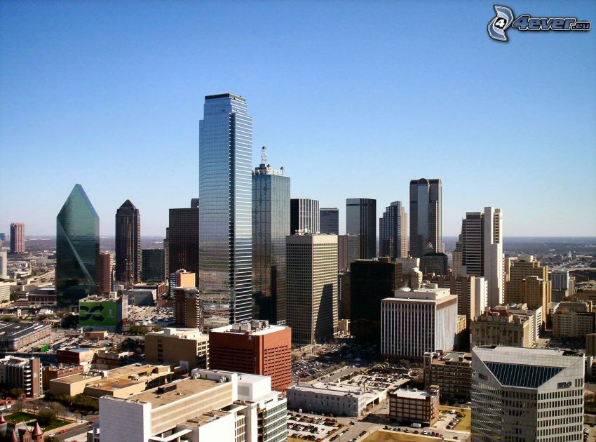 Dallas, gratte-ciel