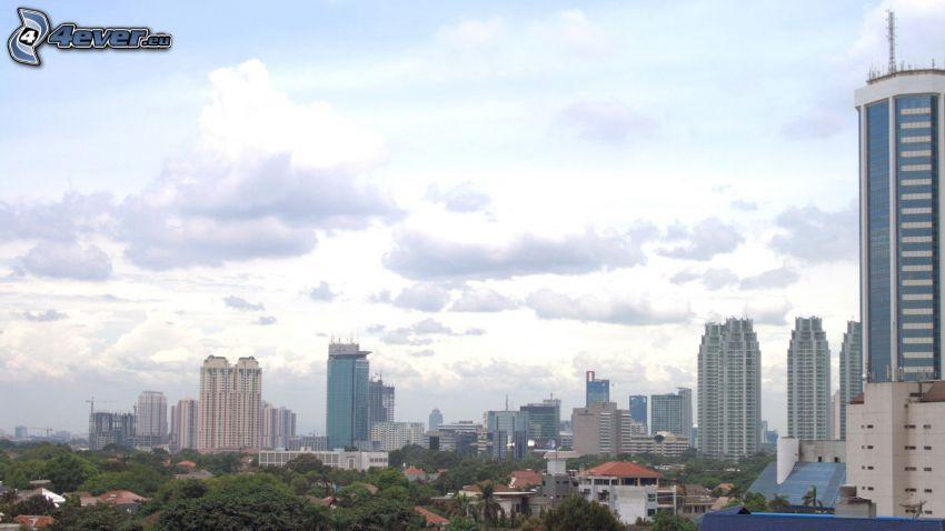 Jakarta, gratte-ciel