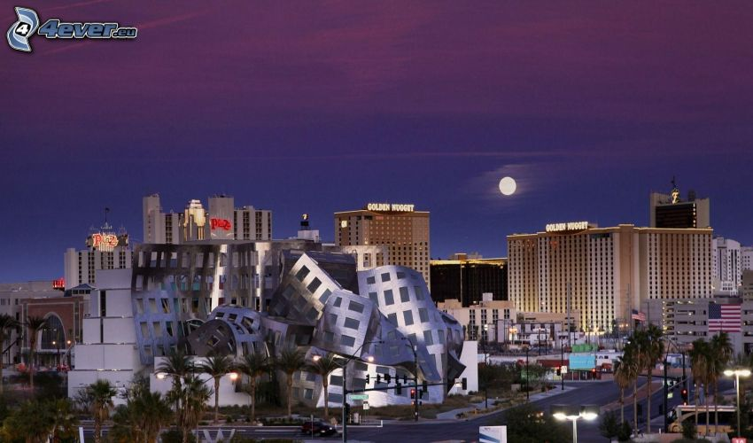 Las Vegas, lune