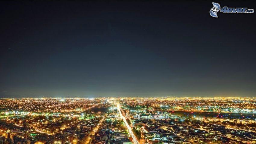 Los Angeles, ville dans la nuit