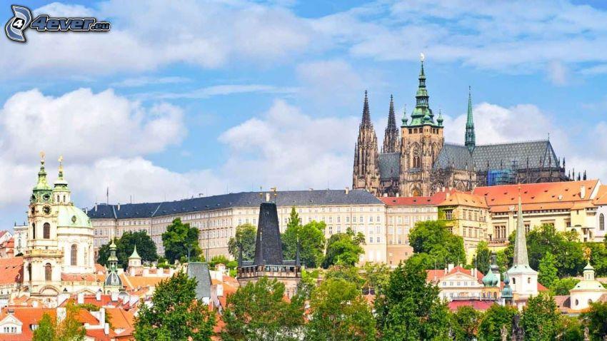 Prague, Château de Prague, HDR