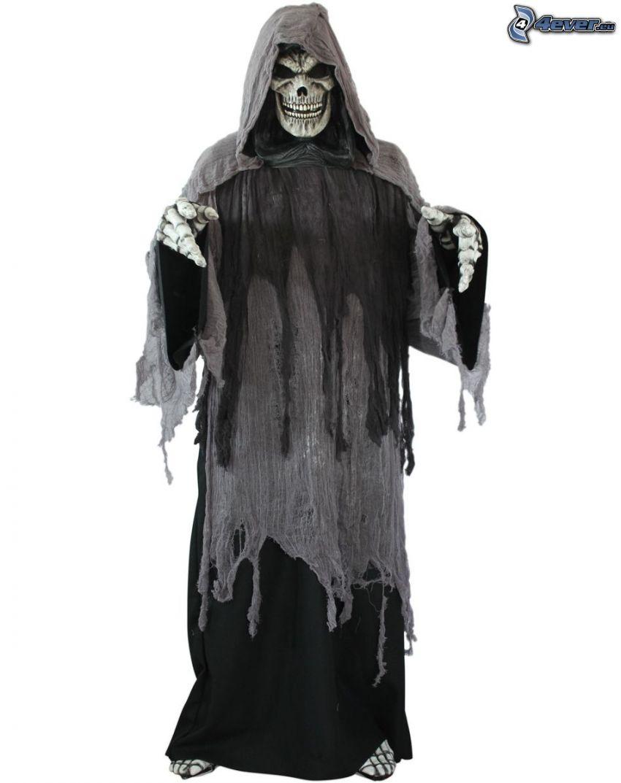 tête de mort, costume