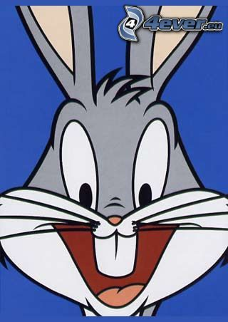 Bugs Bunny, sourire