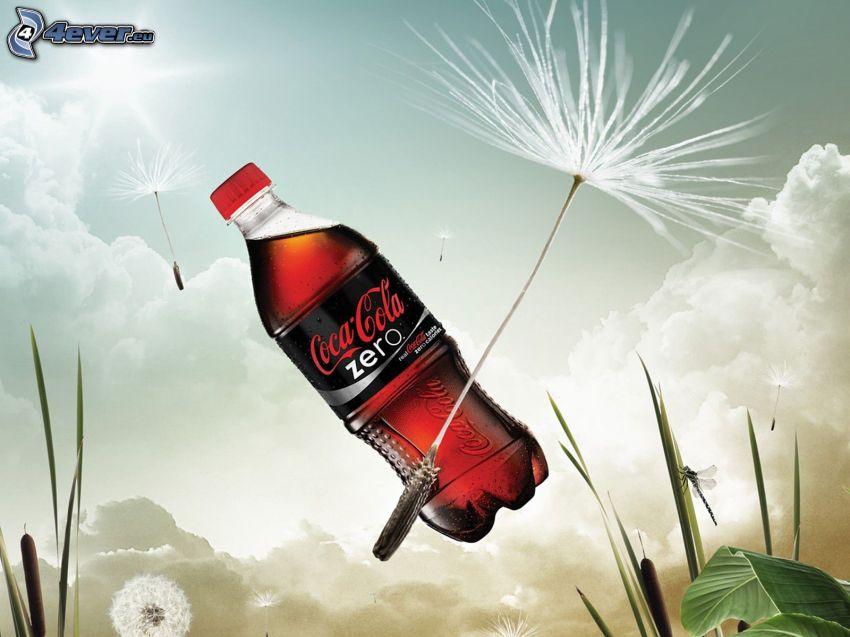 Coca Cola, graines de pissenlit
