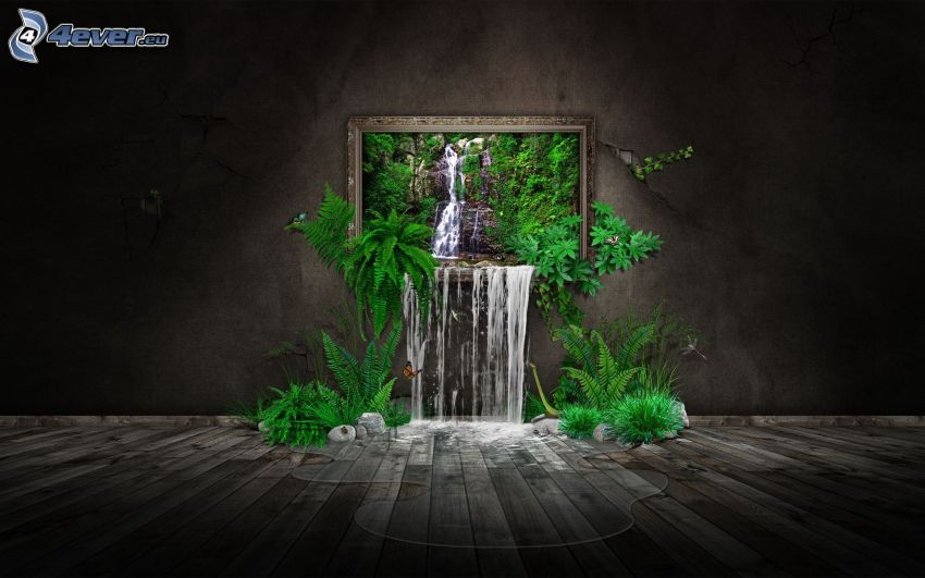 image, cascade, vert
