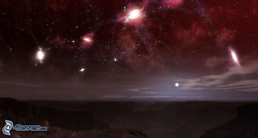 nébuleuses, galaxie