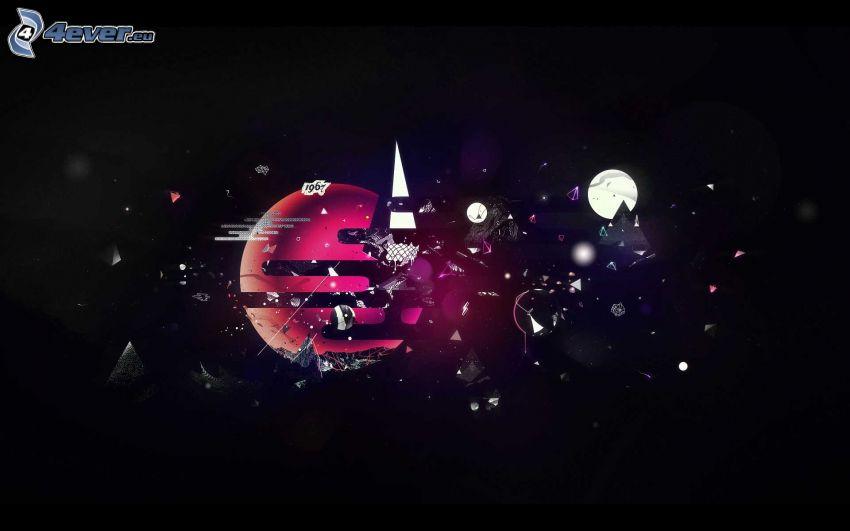 planète, lune