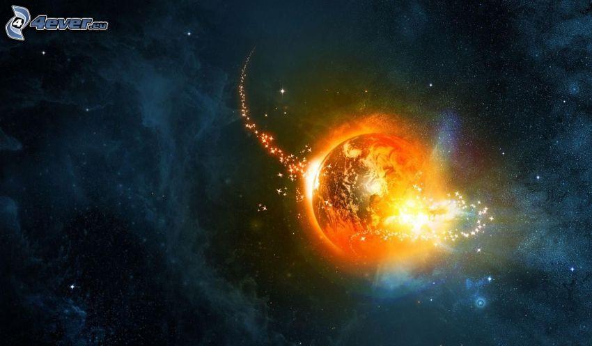 planète Terre, étincelles