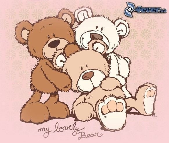 my lovely Bear, oursons