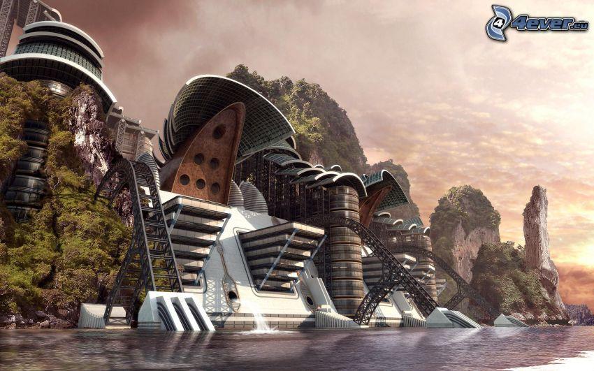 sci-fi paysage