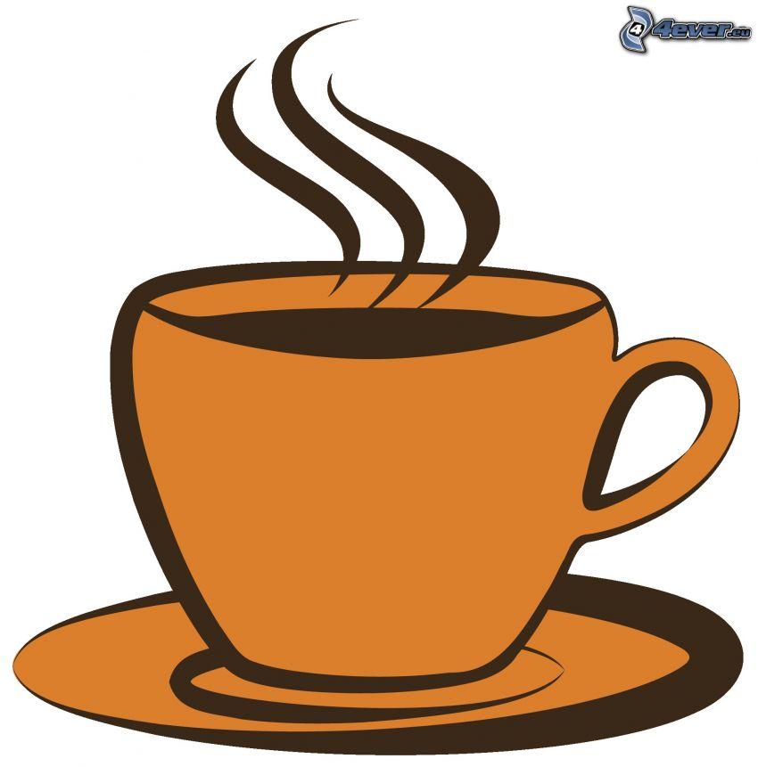 Tasse de caf - Dessin tasse a cafe ...