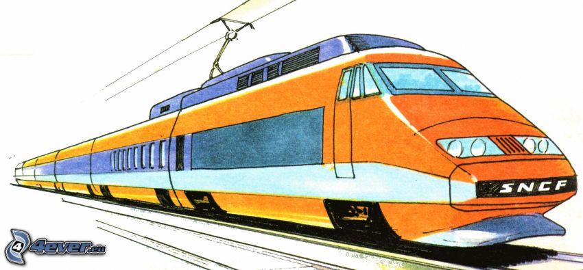 TGV, train