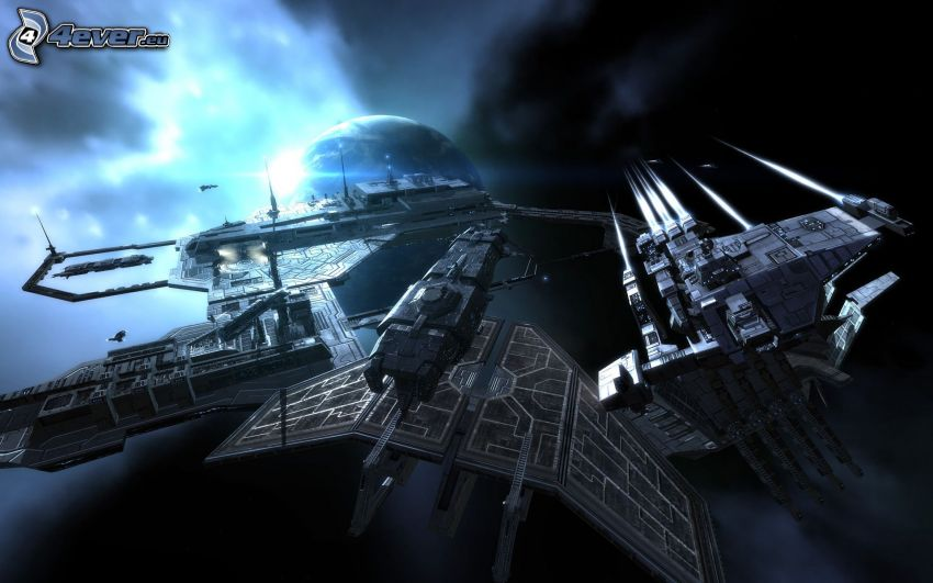 vaisseau spatial, sci-fi