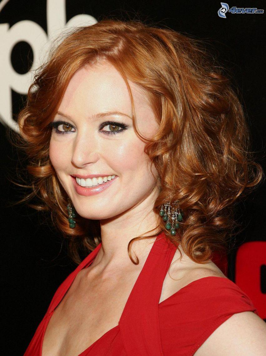 Alicia Witt, sourire