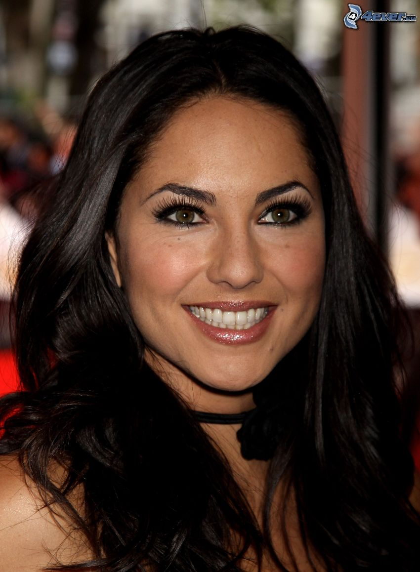 Barbara Mori, sourire, regard
