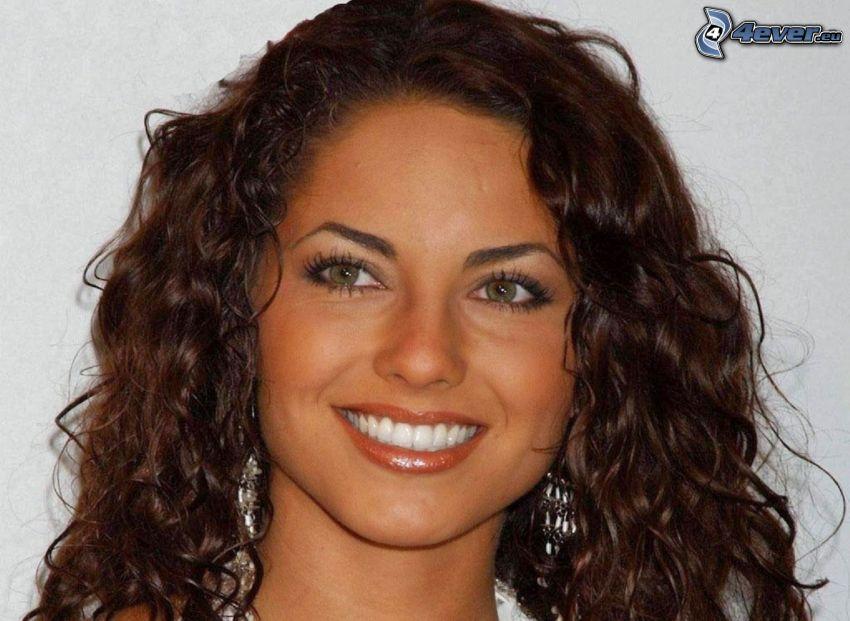 Barbara Mori, sourire