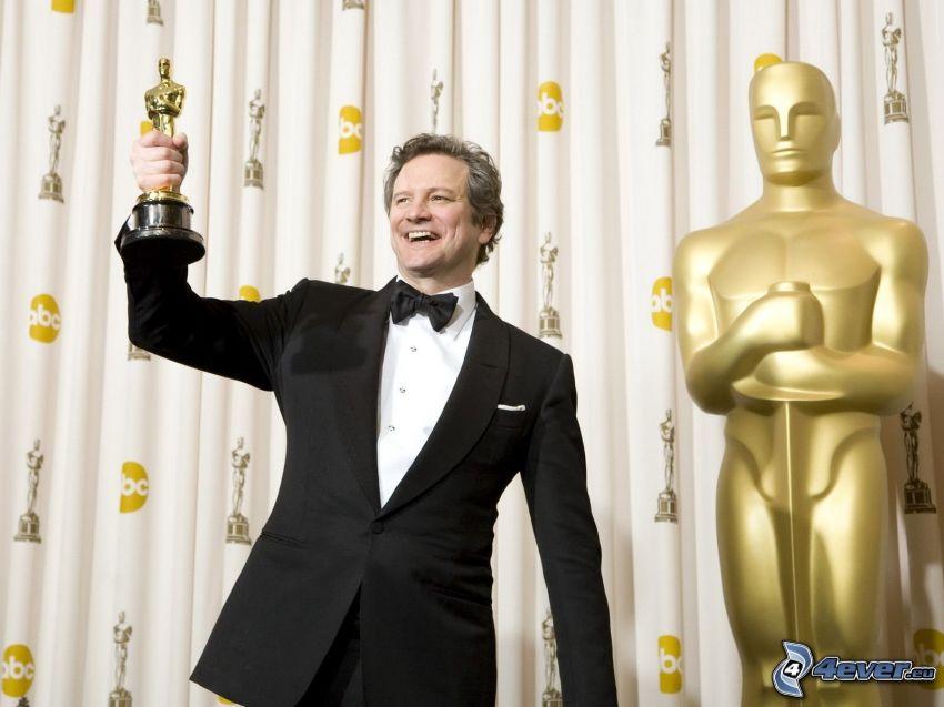 Colin Firth, oscar, joie
