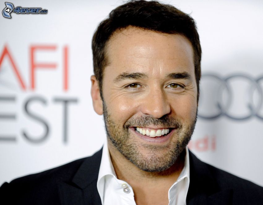Jeremy Piven, sourire