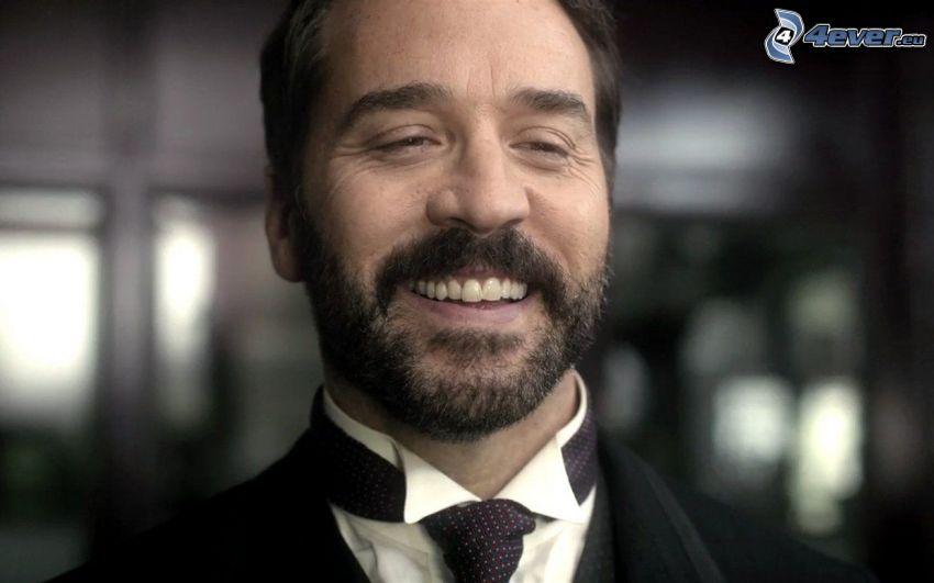 Jeremy Piven, sourire