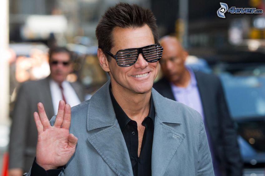 Jim Carrey, lunettes