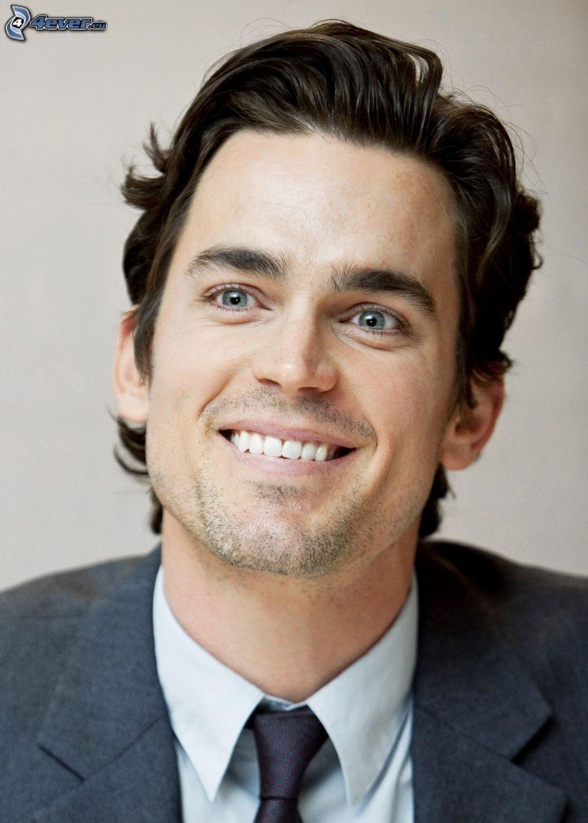 Matt Bomer, sourire