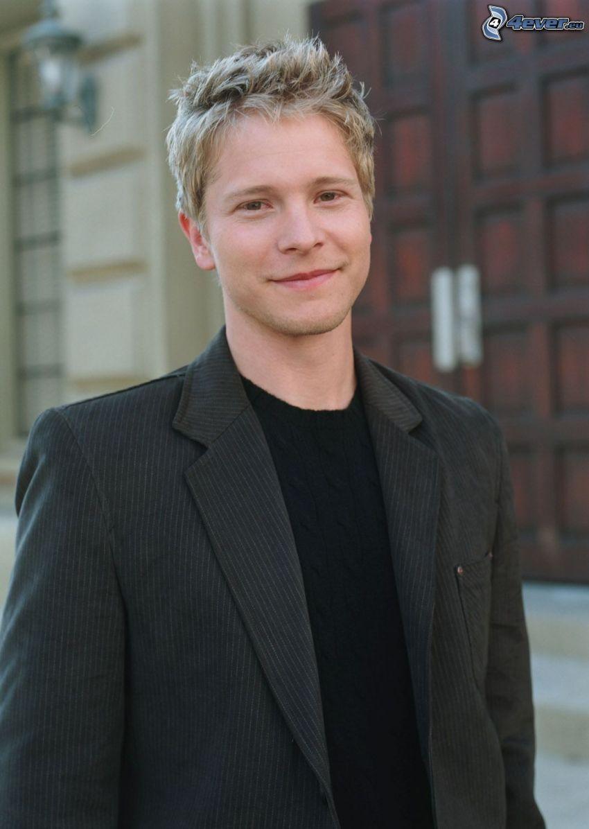 Matt Czuchry, sourire
