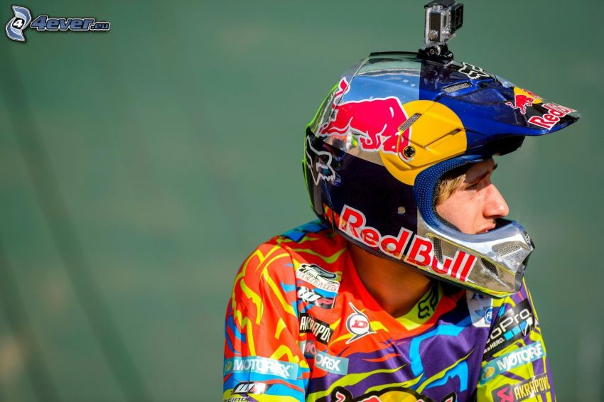 Ken Roczen, motocross, casque