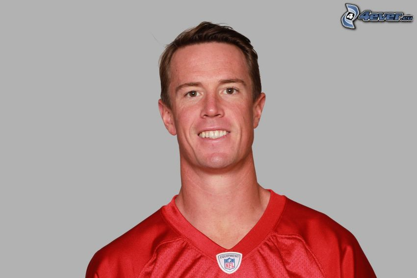 Matt Ryan, sourire
