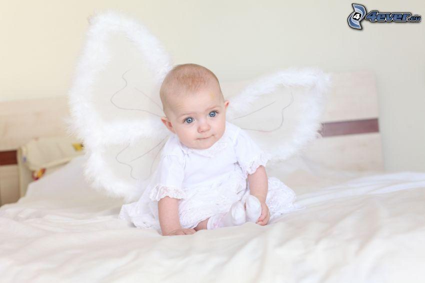 bébé, ange