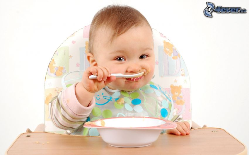 bébé, nourriture