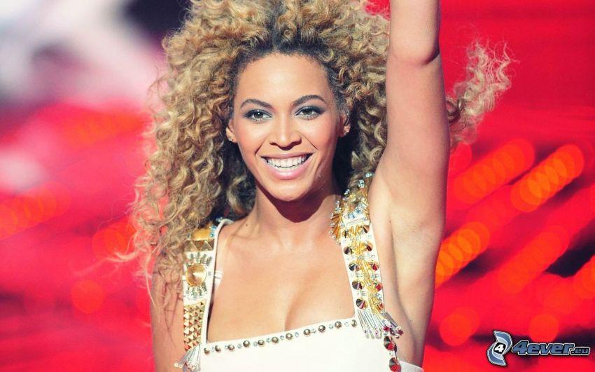 Beyoncé Knowles, sourire