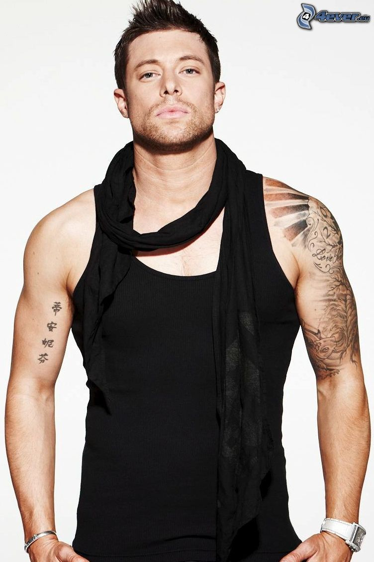 Duncan James, tatouage