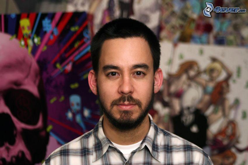 Mike Shinoda, crâne