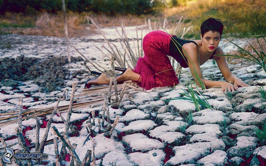 Rihanna, pierres