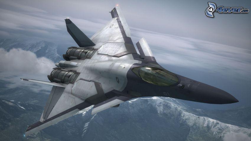 Ace Combat 6, avion de chasse