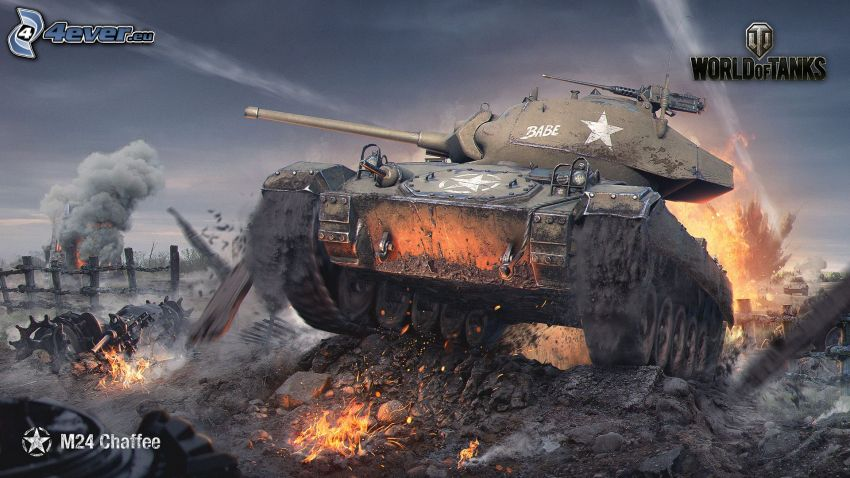 World of Tanks, char, bataille