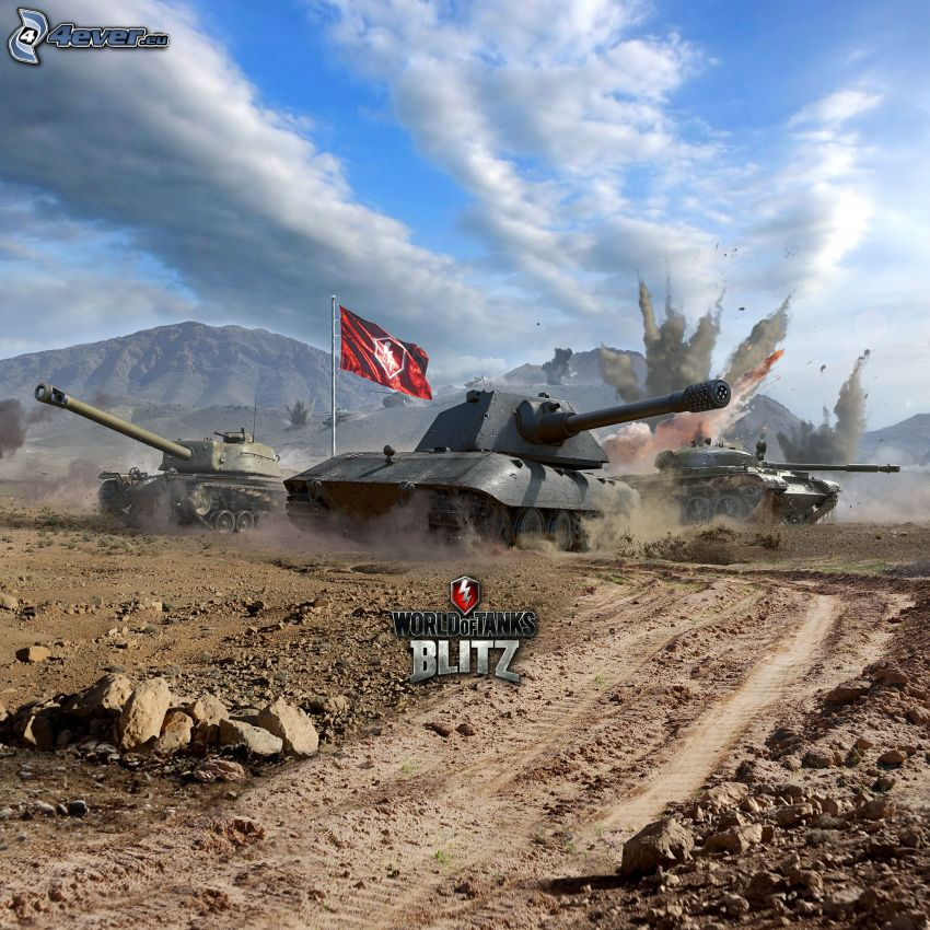 World of Tanks, chars, chemin de campagne, bataille