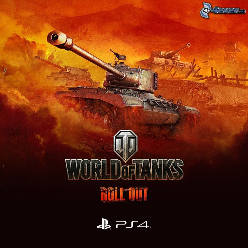 World of Tanks, chars, feu