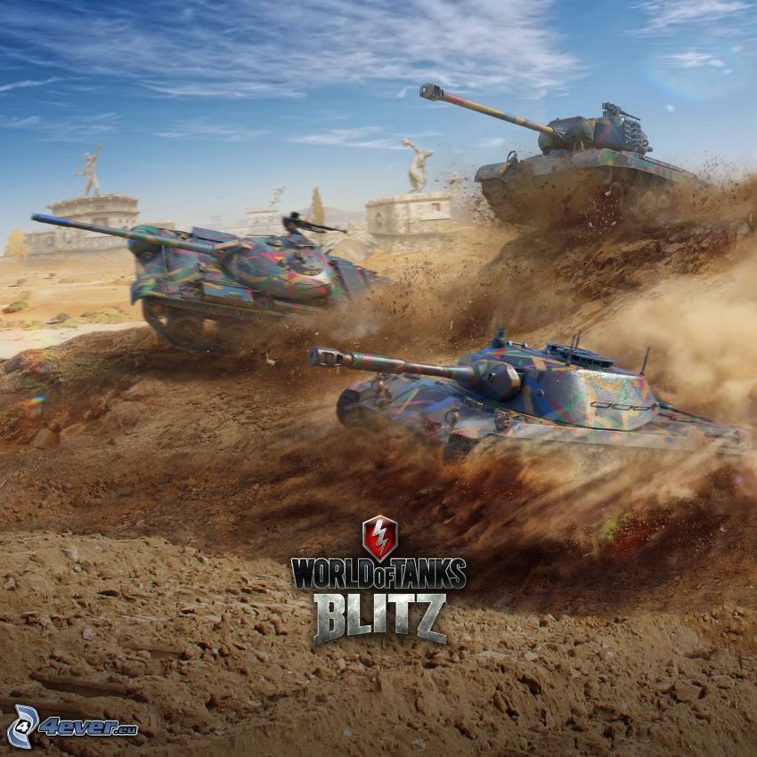 World of Tanks, chars