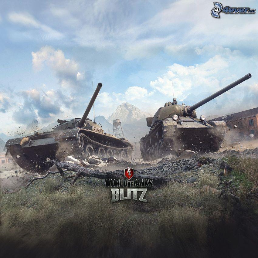 World of Tanks, chars