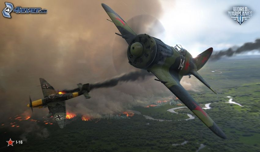 World of warplanes, avions de chasse
