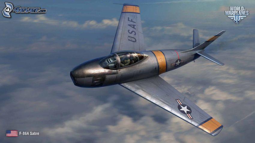 World of warplanes, F-86 Sabre