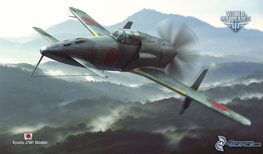 World of warplanes, montagne