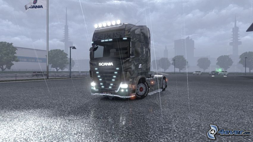 Euro Truck Simulator 2, camion