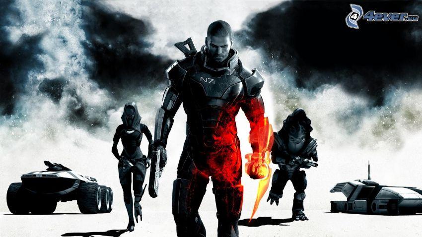 Mass Effect 3, guerriers